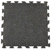 Flex Interlocking Recycled Rubber Floor Tiles
