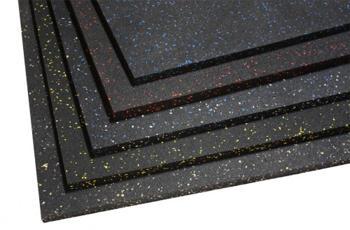 Gym Rubber Floor Anti Slip Mat Interlocking Gym Floor