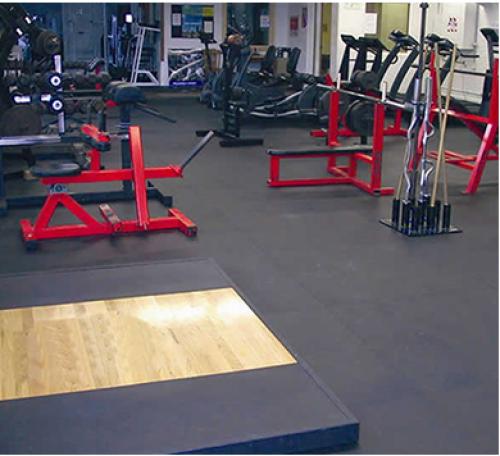 Gym interlocking tiles
