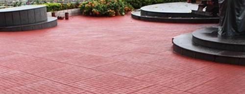 Walkway, garden, horse stable rubber flooring