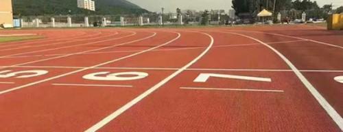 Prefabricated Athletic Running Track