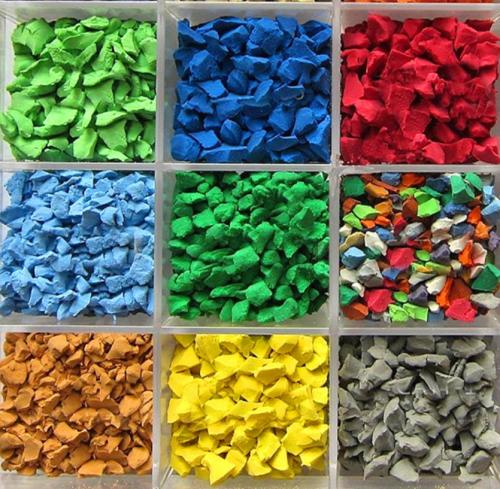 Colorful Rubber Granules EPDM