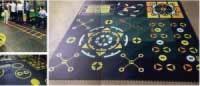 360 Multi-function Rubber Mat