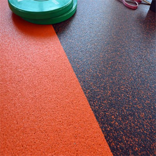 5mm Thick Rubber Roll Matting